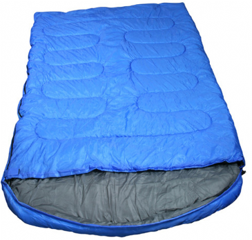 Royal Explorer Double Camping Sleeping Bag with Hood